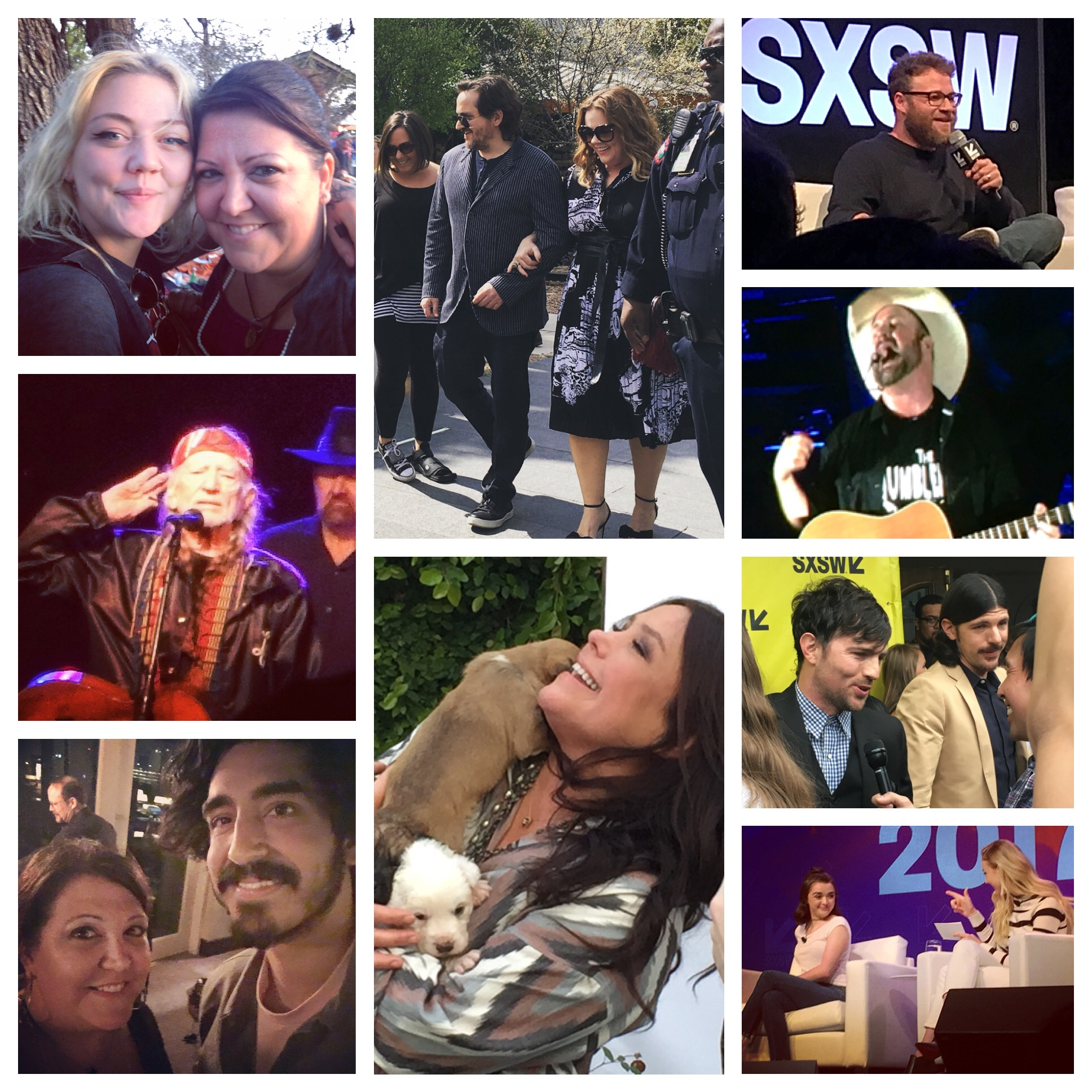 Celebrities in Austin for SXSW 2017