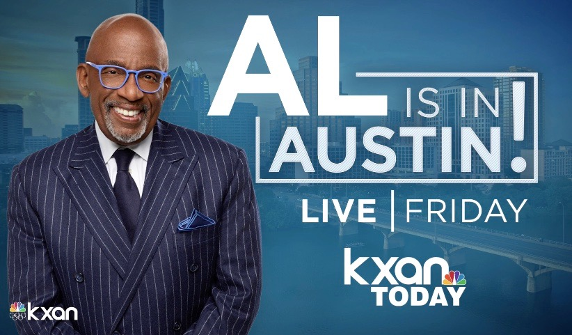 Today Show Coming to Austin! Al Roker Talks Texas Weather and Interviews Matthew McConaughey